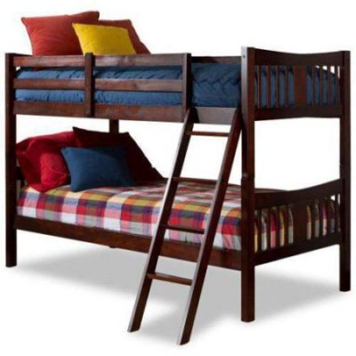 Walmart – Storkcraft Caribou Solid Hardwood Twin Bunk Bed, Cherry Only $179.88 (Reg $279.99) + Free Shipping