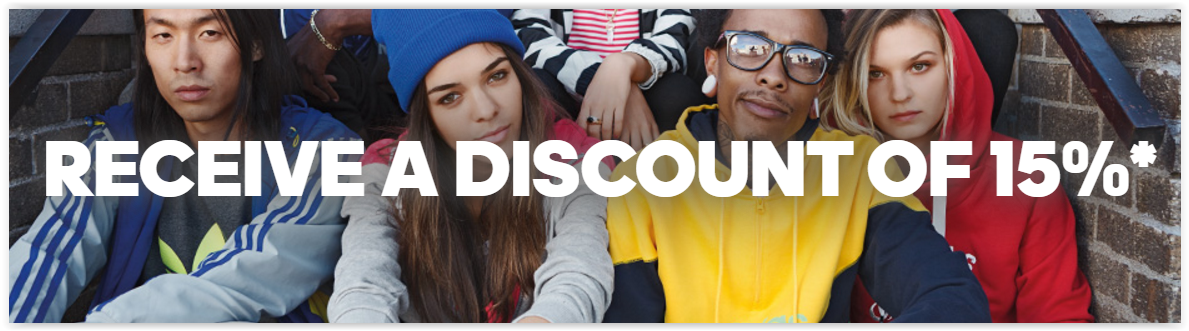 Sign Up for the Adidas Newsletter and Get a 15% Voucher