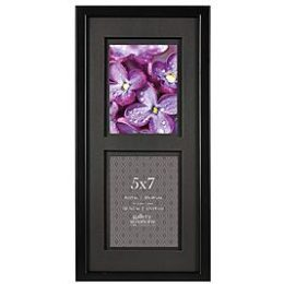 Sears – Gallery Solutions GALLERY SOLUTIONS 8X19 BLACK FRAME, AIRFLOAT MATTED TO 2 – 5X7 Only $11.96 (Reg $18.99) + Free Store Pickup