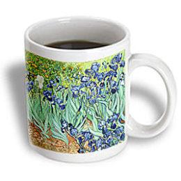 Kmart – 3dRose – Florene Famous Art – Van Gogh Painting Irises II Painting – 15 oz Mug Only $11.89 (Reg $13.99) + Free Store Pickup