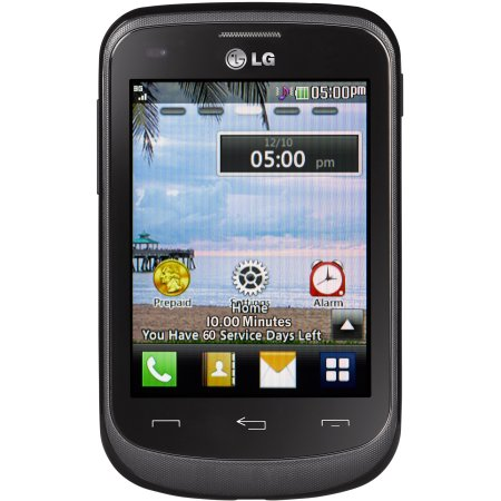 Walmart - TracFone LG 306G Prepaid Cell Phone with Triple