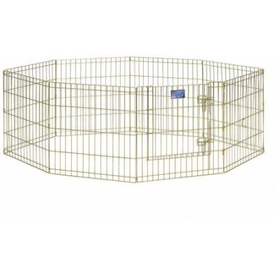 Walmart – Midwest 24″ Gold Zinc Exercise Pen with Door Only $37.09 (Reg $42.54) + Free Store Pickup