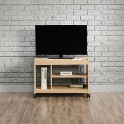 Walmart – Sauder Square 1 Urban Ash TV Cart for TVs up to 32″ Wide Only $60.97 (Reg $66.87) + Free Shipping