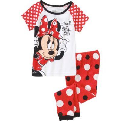 Walmart – Minnie Toddler Girls Pajama Sleepwear Set Only $5.00 (Reg $6.87) + Free Store Pickup