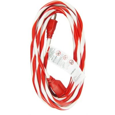 Walmart – WorkChoice 25′ 1-Outlet Outdoor Candy Cane Striped Extension Cord Only $4.87 (Reg $9.97) + Free Store Pickup