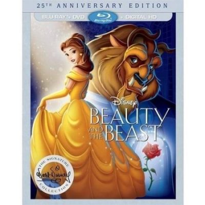 Walmart – Beauty And The Beast 25th Anniversary Edition (Blu-ray + DVD + Digital HD) Only $28.96 (Reg $39.96) + Free Shipping