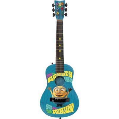 Walmart – First Act Universal Minions Acoustic Guitar MN705, Blue Only $33.97 (Reg $39.99) + Free Store Pickup