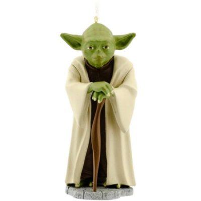 Walmart – Hallmark Star Wars Yoda Ornament Only $3.74 (Reg $7.47) + Free Store Pickup