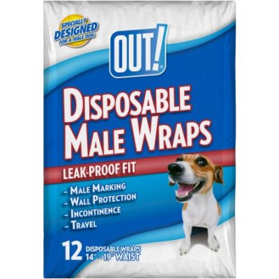 Walmart – OUT! Disposable Male Wraps, 12ct Only $7.86 (Reg $8.97) + Free Store Pickup