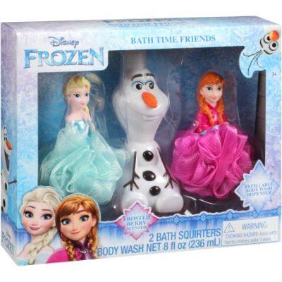 Walmart – Disney Frozen Bath Time Friends Set, 3 pc Only $2.96 (Reg $9.88) + Free Store Pickup