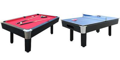 Prime Sears Sportcraft 7 Red Billiard Table W Table Tennis Top Home Remodeling Inspirations Propsscottssportslandcom