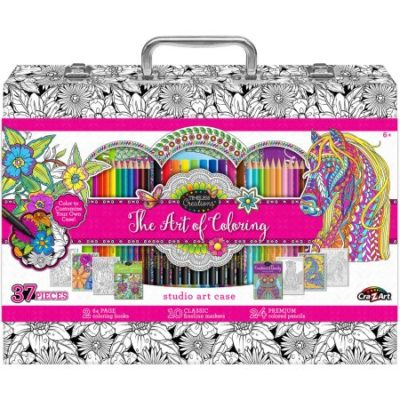 Walmart – Art Of Coloring Adult Coloring Case Only $19.93 (Reg $29.97) + Free Store Pickup