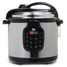 Walmart – Elite Platinum EPC-678SS 6Qt. Electric Stainless Steel Pressure Cooker with Stainless Steel Only $95.07 (Reg $109.99) + Free Shipping