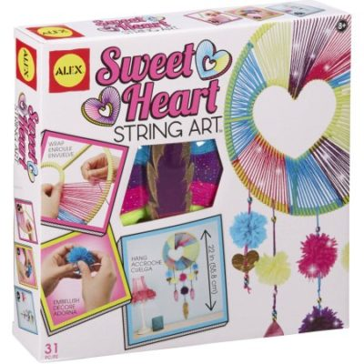 Walmart – ALEX Toys Craft Sweetheart String Art Only $10.00 (Reg $21.99) + Free Store Pickup