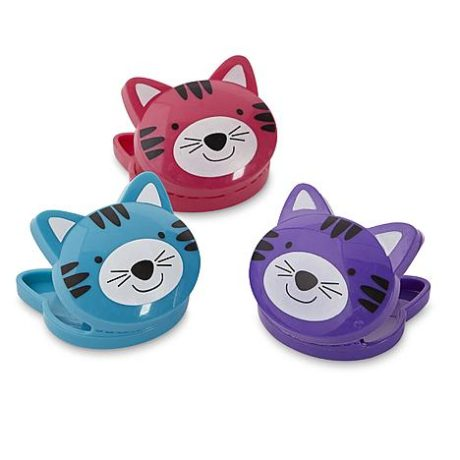 Kmart – 3-Pack Decorative Bag Clips – Cat Only $0.50 (Reg $1.00) + Free Store Pickup