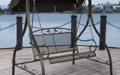 Walmart – Mainstays Jefferson Wrought Iron Outdoor Swing, Seats 2 Only $109.98 (Reg $149.00) + Free Shipping
