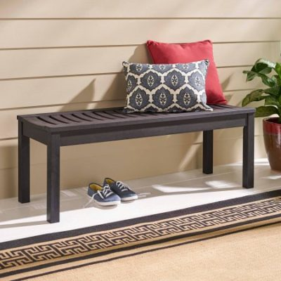 Walmart – Better Homes and Gardens Delahey Backless Outdoor Garden Bench, Dark Brown, Seats 2 Only $80.82 (Reg $89.00) + Free Shipping