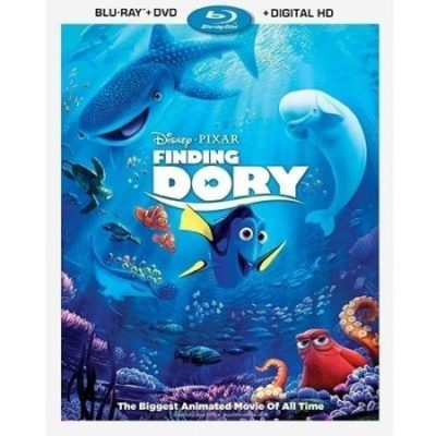 Walmart – Finding Dory (Blu-ray + DVD + Digital HD) Only $18.90 (Reg $29.96) + Free Store Pickup