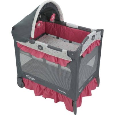 Walmart – Graco Pack 'n Play Travel Lite Crib, Portable Baby Playard Crib, Alma Only $87.99 (Reg $179.99) + Free 2-Day Shipping