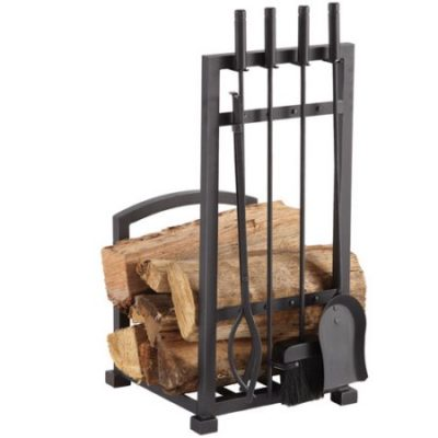 Walmart – Pleasant Hearth 4-Piece Harper Fireplace Toolset with Log Holder Only $58.19 (Reg $69.99) + Free Shipping