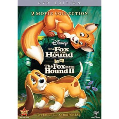 Walmart – The Fox And The Hound / The Fox And The Hound II (30th Anniversary Edition) (Widescreen, ANNIVERSARY) Only $10.64 (Reg $23.99) + Free Store Pickup