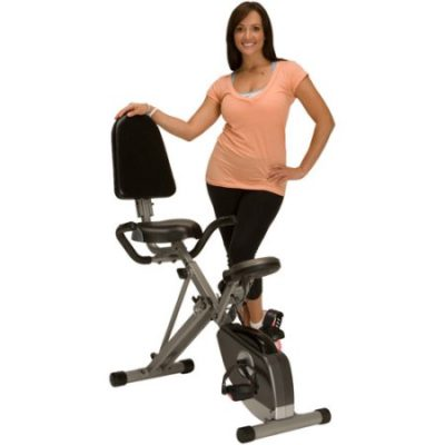 Walmart – Exerpeutic Folding Recumbent Exercise Bike with Pulse Only $125.00 (Reg $189.00) + Free Shipping