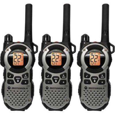 Walmart – Motorola MT352TPR – 35 Mile Range Talkabout 2-Way Radios, 3-PACK Only $145.38 (Reg $169.99) + Free 2-Day Shipping