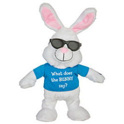 Get Into The Spirit Of Holiday With This Singing Dancing Bunny That Belts Out One Your Favorite Gospel Songs Just Push Button And She Dances