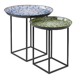 Sears – Garden Oasis Mosaic Nesting Tables Only $69.99 (Reg $99.99) + Free Shipping