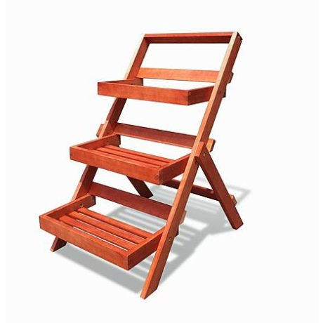 Sears – Vifah Wood Outdoor Three-Layer Plant Stand with Teak Finish Only $62.99 (Reg $92.99) + Free Shipping