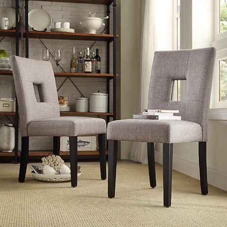 Sears – Oxford Creek Marlin Conteporary Side Chair in Grey (Set of 2) Only $179.99 (Reg $239.99) + Free Shipping
