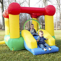 Sears – Hey! Play! Hey! Play! Inflatable Castle Bounce House with Slide Only $199.21 (Reg $214.99) + Free Store Pickup