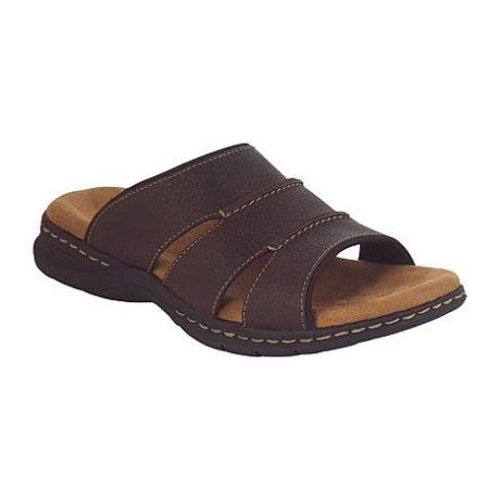 Sears – Dr. Scholl's Men's Gordon Brown Memory Foam Slide Sandal Only $49.99 Through 4/29/17 (Reg $70.00) + Free Store Pickup