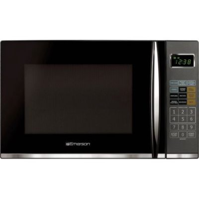 Walmart – Emerson 1.2 cu ft Microwave with Grill, Black Only $89.00 (Reg $129.00) + Free 2-Day Shipping