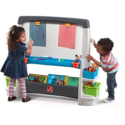 Walmart – Step2 Jumbo Art Easel, Extra-Large Whiteboard and Chalkboard Allow for Multi-player Child Play Only $86.03 (Reg $99.99) + Free Shipping