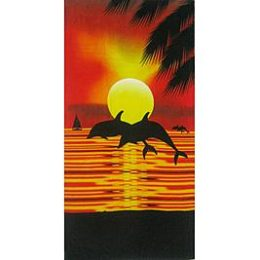 Kmart – Essential Home Beach Towel – Dolphin Sunset Only $6.99 (Reg $9.99) + Free Store Pickup