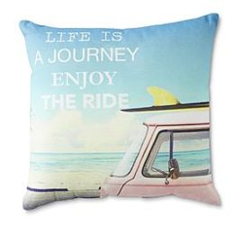 Kmart – Printed Accent Pillow – Life Is a Journey Only $9.99 (Reg $16.99) + Free Store Pickup