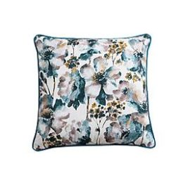 Sears – 18″ x 18″ Floral Pillow – Teal Only $6.97 (Reg $24.99) + Free Store Pickup