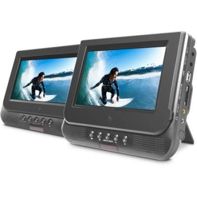 Walmart – Ematic 7 Dual Screen Portable DVD Player Only $69.98 (Reg $77.83) + Free 2-Day Shipping