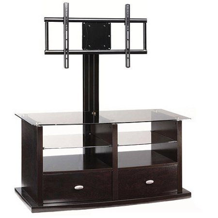 The Whalen Expresso Tv Stand With Swinging Mount Is Ideal For Keeping Your And Components Organized Tvs Up To 56