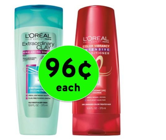 Walgreen's – L'Oreal Expert Hair Care for Only 96¢ Each
