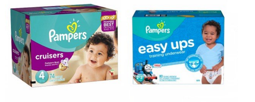 Target – Pampers Diapers & Pampers Easy-Ups Super Packs ONLY $14.64 Each!