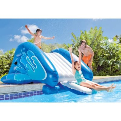Walmart – Intex Inflatable Water Slide Play Center with Sprayer, 131″ x 81″ x 46″ Only $74.99 (Reg $99.99) + Free Shipping