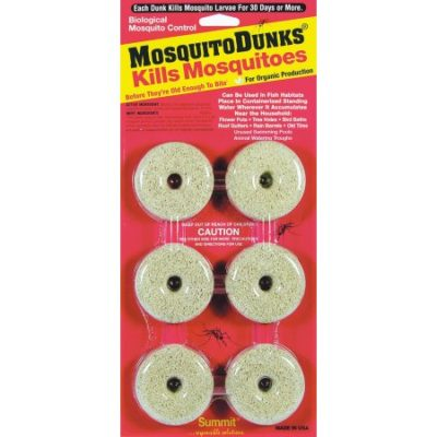 Walmart – Mosquito Dunks Biological Mosquito Control 6 Pack Only $6.91 (Reg $8.33) + Free Store Pickup