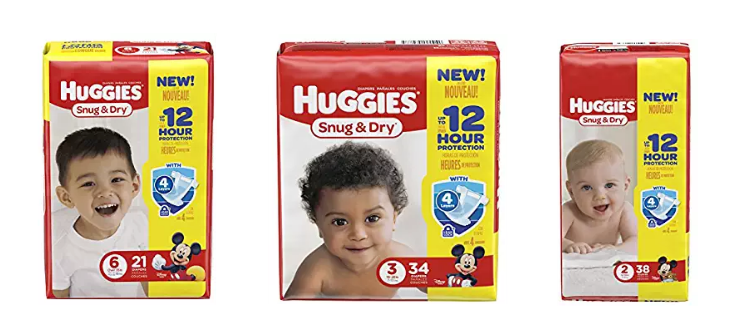 Amazon – Huggie's Diapers As Low As $6.38 A Pack