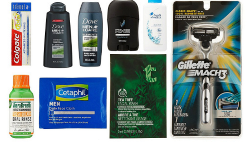 FREE Men's Grooming Sample Box after Amazon Credit