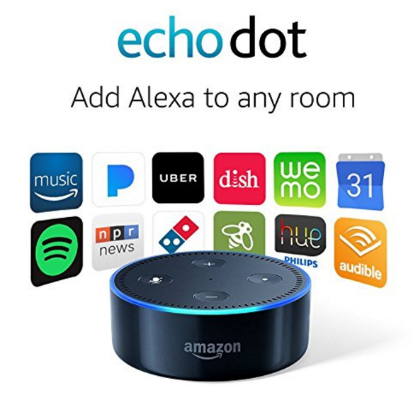 Amazon – EXCLUSIVELY FOR PRIME MEMBERS – Echo Dot (2nd Generation) Only $34.99 (Reg $49.99)
