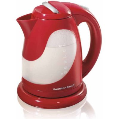 Walmart – Hamilton Beach 1.7 Liter Cordless Pull Up Lid Pouring Kettle | Model# 40919 Only $20.30 (Reg $31.11) + Free Store Pickup