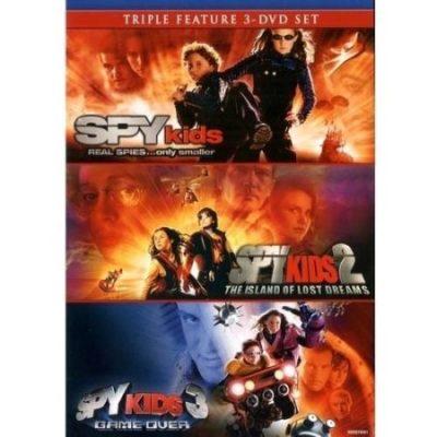 Walmart -Spy Kids Triple Feature (Widescreen) Only $7.50 (Reg $12.98) + Free Store Pickup