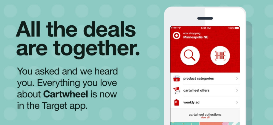 Target Has Officially Added Cartwheel into the Target App (Download Now!)